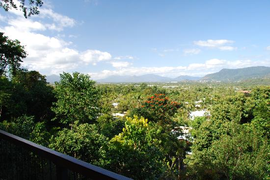 Kookas Bed & Breakfast: View from the balcony