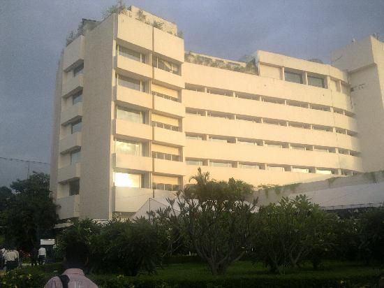 The Lalit Ashok: the hotel from the outside
