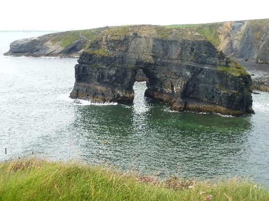 Ballybunion, Irlandia: Cliff walk near hotel