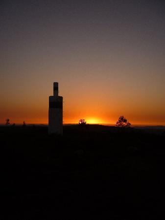 B&B Casa Bellavista: prachtige zonsondergang vanop de top