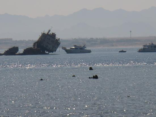 Jaz Belvedere: nave affondata