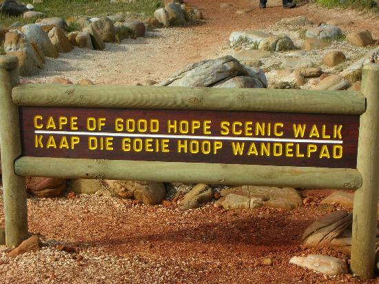 Cape of Good Hope: 山