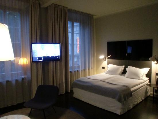 Nobis Hotel: Coin chambre