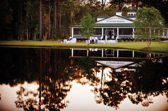 Greenville, Flórida: Lakeside Outdoor Pavilion with incomparable views of Lake Obo & Ryan's River