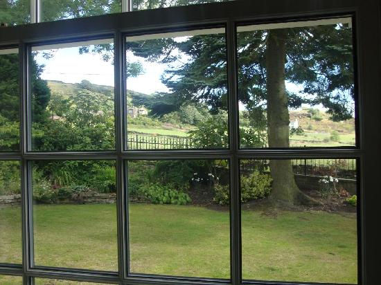 Brook House: View of the moors from our room
