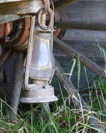 Four Mile Old West Town: Old lantern
