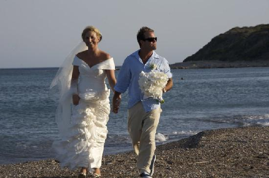Atrium Prestige Thalasso Spa Resort and Villas: pic's on the beach as well as around the chapel
