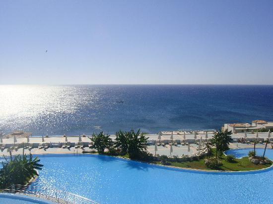 Atrium Prestige Thalasso Spa Resort and Villas: gorgeous view where ever you are in the hotel