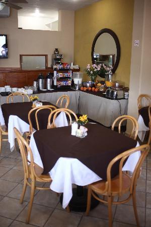 Comfort Inn Tampico: Restaurante
