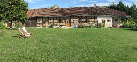 Le Boyer : Panoramafoto des Haupthauses