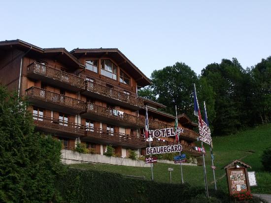 Hotel Beauregard : vue de l'hotel