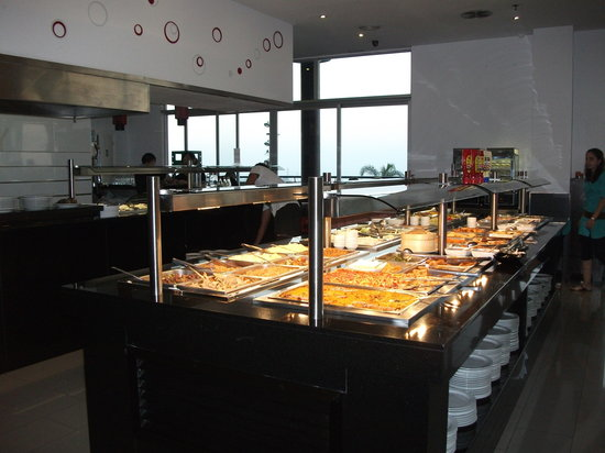 M. Wok: some of the buffet