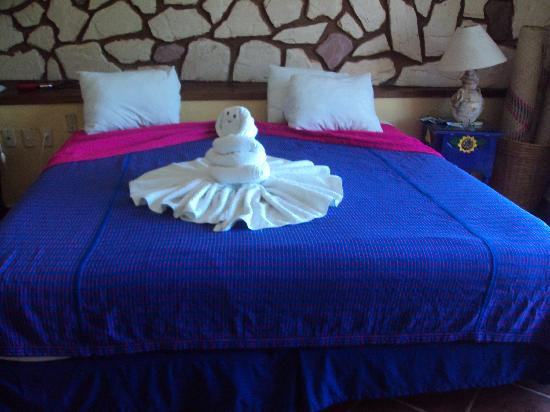 Hotel Hacienda del Caribe: Towels