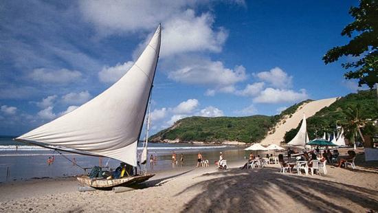 Natal, RN: Praia de Ponta Negra - Morro do careca