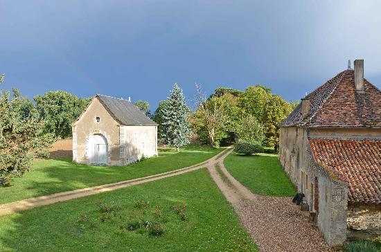 Chateau de Boiscoursier: vue chambre 2