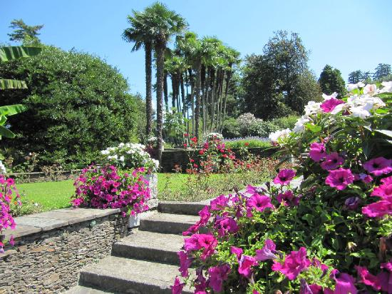 Verbania, Italia: Colori e tranquillita