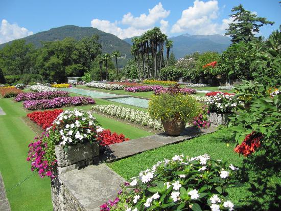 Verbania, Italia: La belezza dei colori