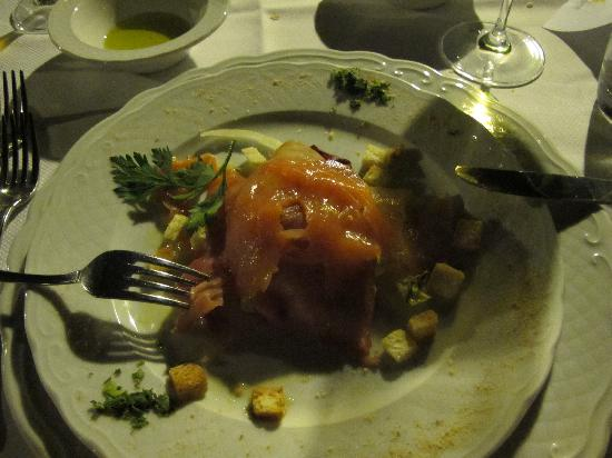 Il Podere Hotel: Diner