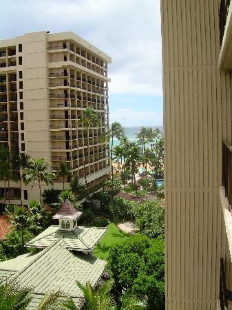 Hilton Hawaiian Village Waikiki Beach Resort Our View Beautiful Not Too Bad