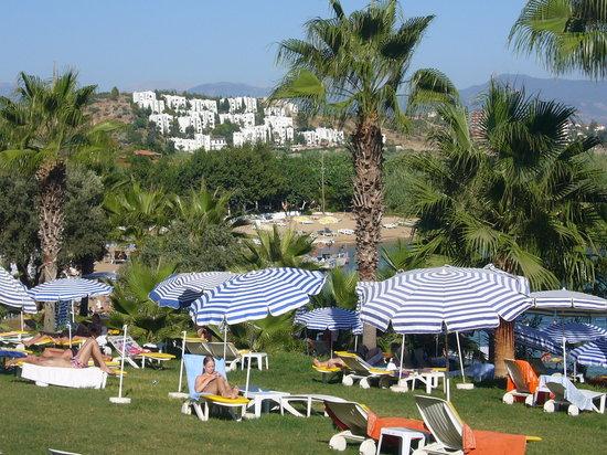 Kosdere Club Hotel: Gartenanlage