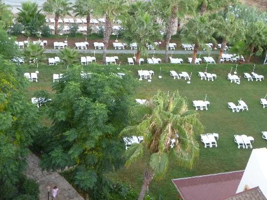 Kosdere Club Hotel: Blick von Dachterrasse
