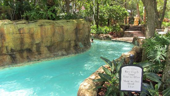 JW Marriott Orlando, Grande Lakes : Just a small part of the nice lazy river on site