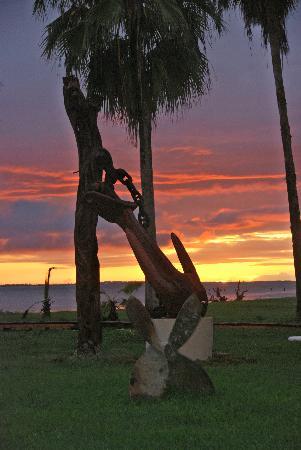 Captain Dulche's Museum : Sunset in Museum Capitan Dulche