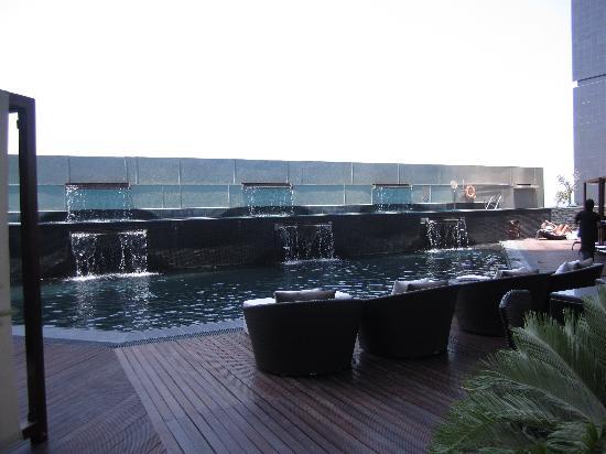 W Doha: pool area