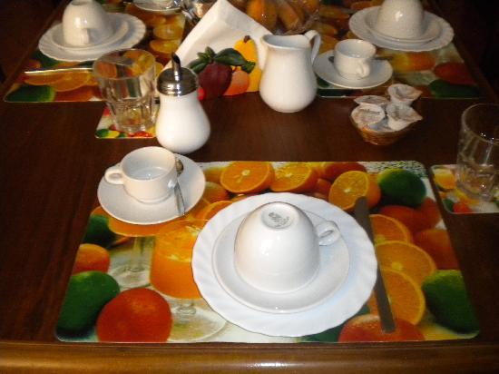 B&B Al Buonumore : wonderful breakfast al buonumore