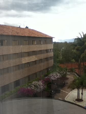 Rionegro, Colombia: Fachada interior, canchas de tenis