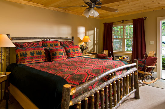 "The Alpine Lodge: A ""Standard King"" Guest Room"