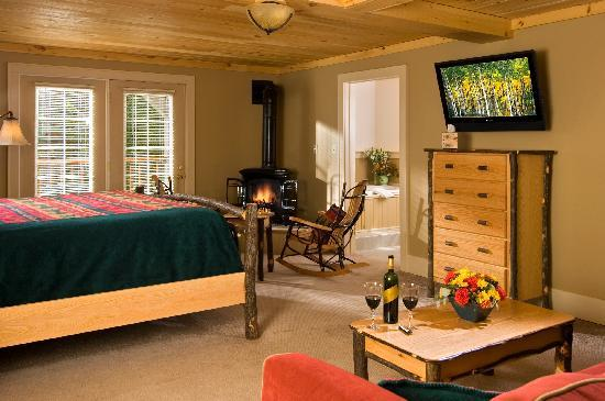"The Alpine Lodge: A ""Luxury King"" Guest Room"
