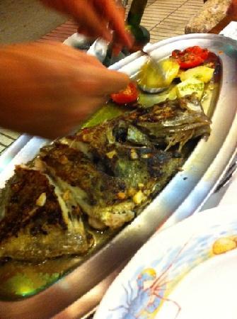 Casa Gallego: pescado planxa