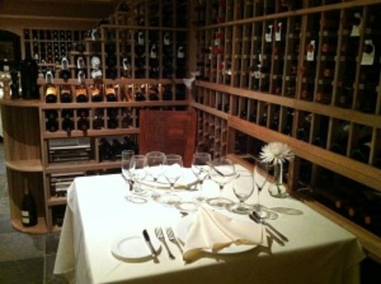 Harvest Tavern: Wine Cellar at Mountain View Grand