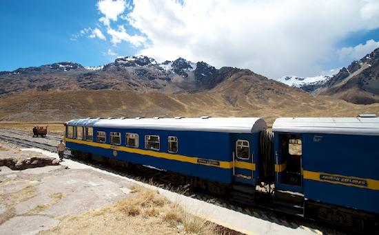 PeruRail Andean Explorer: Observation Car at Scenic Stop