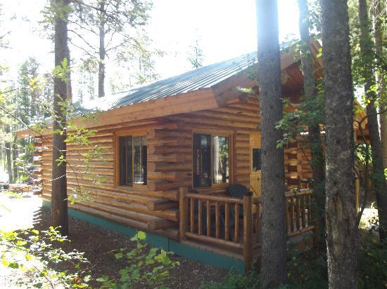 Silverwolf Log Chalet Resort: Our cabin