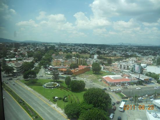 Holiday Inn Guadalajara Select: View from 9th floor room