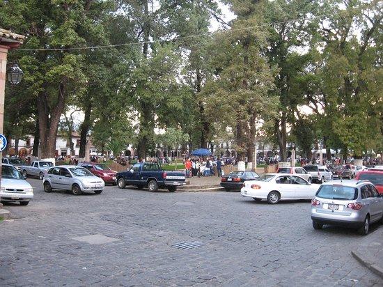 Patzcuaro, México: Plaza