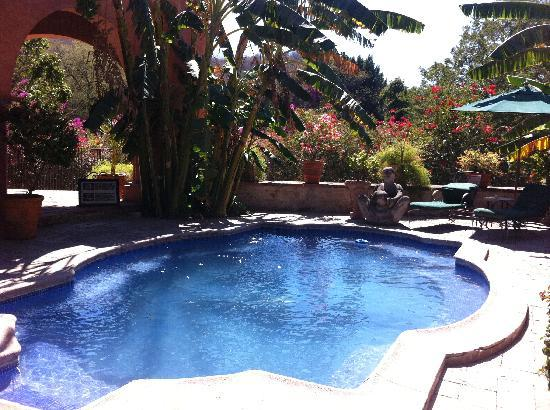 Hacienda De Los Santos: pool for a refreshing dip