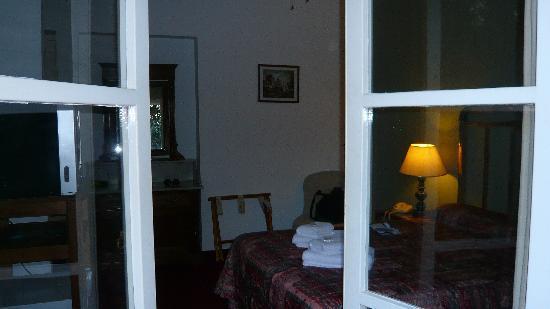 Posada del Gobernador: desde el balcón de mi habitación