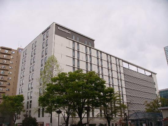 Richmond Hotel Fukushimaekimae : 外観
