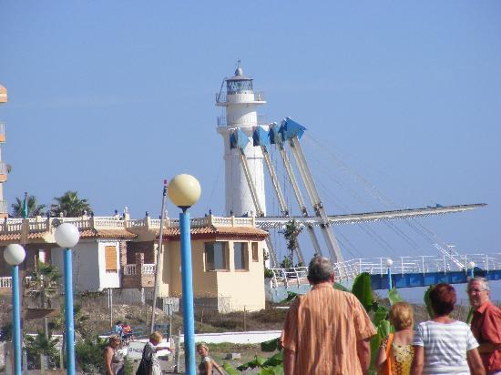 Torrox Costa Promenade: lighthose