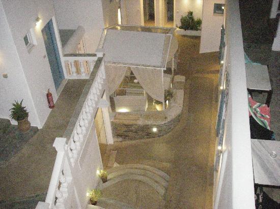 Hotel Carbonaki: Veiw from balcony