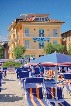 Il Gabbiano: Hotel von der Meerseite