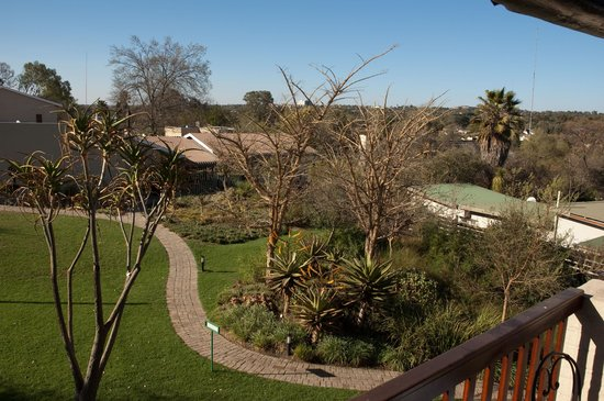 Rivonia Bed & Breakfast: View from our room