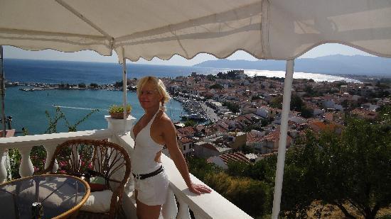 Hotel Hera II: View to the village