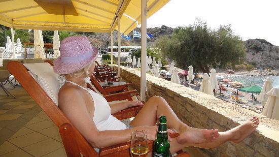Hotel Hera II: Glicorisa beach chilling place