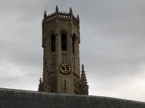 Martin's Brugge: Belfort Tower, view from our room!
