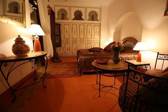 Riad Bamaga Hotel: Chambre bab Doukkala