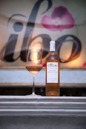 Ibo Ibiza: Rose wine at Ibo